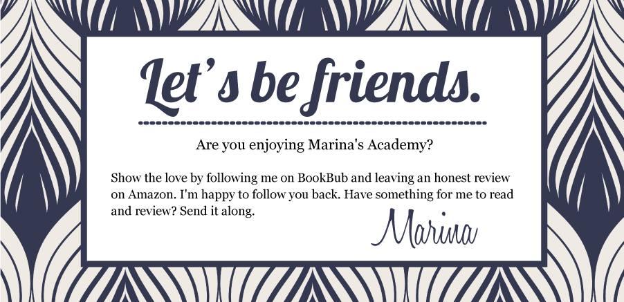 Let's be friends.
